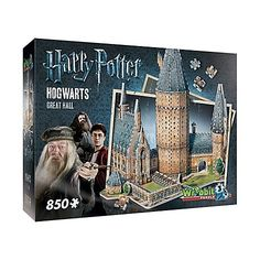 f8653699d Harry Potter™ Collection Hogwarts™ Great Hall 3D Puzzle Harry Potter  Merchandise, Harry Potter