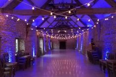 Wedding lighting at Caswell House by Oakwood Events. Including fairy light canopies, paper lanterns, disco lights, uplighting and more. Festoon Lights, Canopy Lights, Caswell House Wedding, Nordic Lights, Indoor String Lights, Disco Lights, Barn Lighting, Paper Lanterns, Fairy Lights