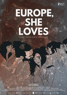 Europe, She Loves by Jan Gassmann. #Berlinale Panorama.  Poster.