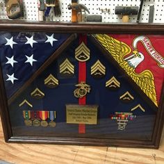 Military Uniform Shadow box FREE SHIPPING lower 48 states   Etsy Military Shadow Box, Shadow Box Display Case, Flag Holder, Military Retirement, Fabric Display, Flag Stand, Plexus Products, Memorial Day, Concert Posters