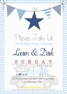 Girls police baby shower invitations pinterest police baby police theme baby shower invitation filmwisefo