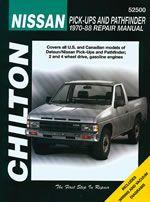 Nissan Pick-ups/pathfinder (1970-88) Chilton Manual