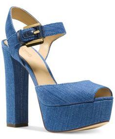 MICHAEL Michael Kors London Two-Piece Platform Dress Sandals