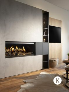 House Inspo, House Styles, Fireplace Design, Living Room With Fireplace, New Homes, Floor Design, Fireplace, Living Room Redesign, Fireplace Hearth