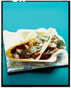 Black Bean & Toasted Corn Tacos Recipe | Vegetarian Times