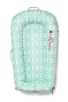 I think I want one of these. Would be good for traveling DockATot Deluxe Baby Lounger |  Minty Trellis