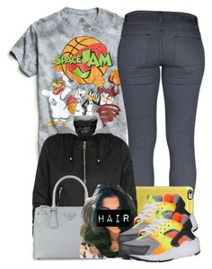 """""""12/26/16"""" by jasmineharper ❤ liked on Polyvore featuring Urban Outfitters, Dr. Denim, Casetify, Topshop, Prada and NIKE"""