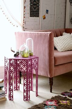 Magical Thinking Hexagon Side Table