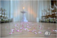 Flower lined ceremony at Bridgeport Art Center Bridgeport Art Center, Event Planning, Wedding Planning, Chicago Wedding, Wedding Events, How To Plan, Creative, Flowers, Design