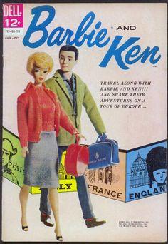 Vintage Barbie and Ken!