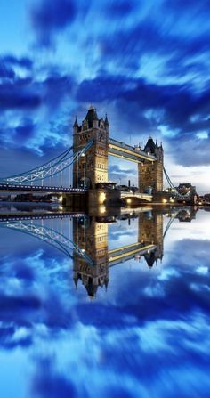 Tower Bridge in London Places Around The World, Travel Around The World, Around The Worlds, Beautiful World, Beautiful Places, Beautiful London, Places To Travel, Places To Visit, Tower Bridge London