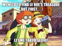 Credit: Darren G. | Adventures in Odyssey memes | Eugene Meltsner | Connie Kendall