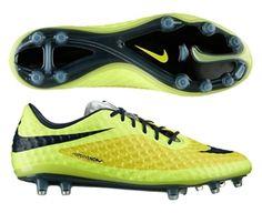 finest selection c9380 7f2dd Nike Hypervenom Phantom FG Soccer Cleats (Yellow Black Volt Ice). Fútbol  NikeZapatos De ...