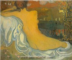 Maurice Denis,  Nude at Dusk