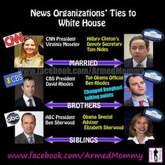 News organizations ties to BO.....just a bunch of liberal left wing hacks for BO!