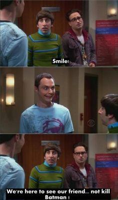 Smile Sheldon :D