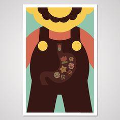 Dr. Mario #nintendo #mario #art #print
