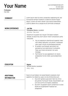 sample resume for ojt j pinterest sample resume resume
