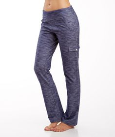 Loving this Deep Cobalt Space Dye Pocket-Accent Convertible Pants on #zulily! #zulilyfinds…also in black