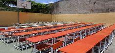 Escuelas públicas recibieron mesas y sillas para el inicio de clases