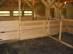 goat stall pictures | Fox Mountain Farm: Barn Building Progress