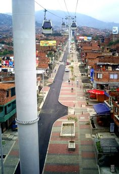 Architecture In Development - news - The Urban Transformation of Medellin, Colombia Tahiti, Belize, Pavement Design, Urban Stories, Puerto Rico, Vertical City, Urban Design Concept, Futuristic Architecture, Architecture Diagrams