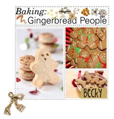 """""""Baking Gingerbread People;; ♥"""" by the-polyvore-tips-xo ❤ liked on Polyvore featuring Topshop, H&M, Minor Obsessions, Urban Decay, Clips, Anderson's Belts and kitchen"""