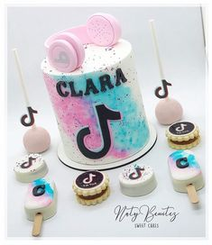 Tik Tok Cake Fiestas De Cumplea 241 Os Para Adolescentes