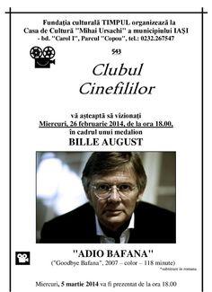 """Clubul Cinefililor: """"Adio Bafana"""""""