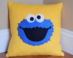 These soft and cuddly pillows are the perfect touch for any child's bedroom. Safe for toddlers Handmade 14X14 inch pillows Machine washable Made in a smoke-free and pet-free environment