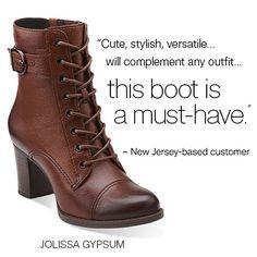 Jolissa Gypsum | #fallstyle | #boots | #clarkscustomerfavorites