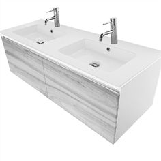 Find Cibo Design Cafe Oak Revive Double Basin Vanity at Bunnings Warehouse. Visit your local store for the widest range of bathroom & plumbing products. Wendy House, Bathroom Plumbing, Drawer Fronts, Storage Drawers, Basin, Vanity, Warehouse, Bathrooms, Diy