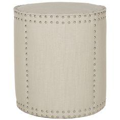 Safavieh Paula Off White Ottoman - Overstock™ Shopping - Great Deals on Safavieh Ottomans