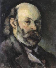 Paul Cézanne · Autoritratto · 1881 · Pushkin Museum · Moskva
