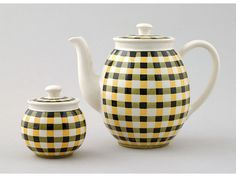 Villeroy & Boch 'Glasgow' pattern teapot and sugar bowl, - Miller's Antiques & Collectables Price Guide