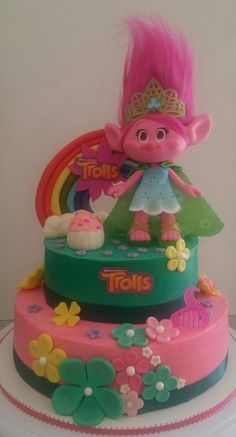 troll cake by Yary's Cakes www.facebook.com/yaryscakesandmore/: