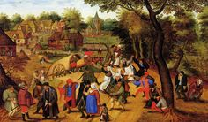 The Return of the Fair (Pieter Bruegel the Younger - 1620-1630)