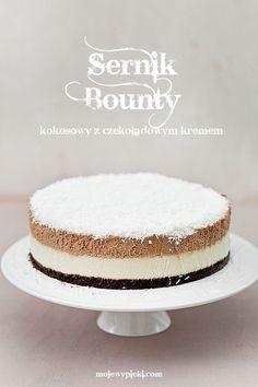 Chocolate Bounty Cheesecake// Cheesecake Pie, Cheesecake Recipes, Sweet Desserts, No Bake Desserts, Sweet Recipes, Delicious Desserts, Food C, Sweet Corner, Torte Cake