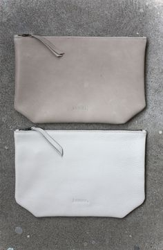 Leather clutch inspiration