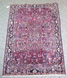 Sarough Origin: Persia Size: 155 x 106 cm - Teppich Michel