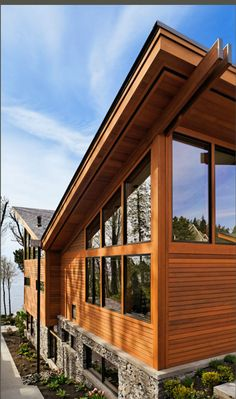 Butterfly Roof With Rain Barrel This Concept Allows The