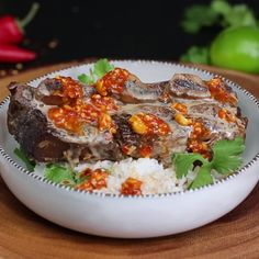 Spice up your short ribs with lemongrass, coconut milk and a savory peanut sauce.