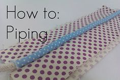 easy tutorial on piping