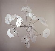 View Arbre flottant by Susumu Shingu on artnet. Browse more artworks Susumu Shingu from Galerie Jeanne Bucher Jaeger. Geometric Sculpture, Abstract Sculpture, Geometric Artists, Hanging Mobile, Installation Art, Original Artwork, Sculptures, Table Lamp, Ceiling Lights