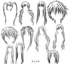 cabello de chicos anime - Buscar con Google