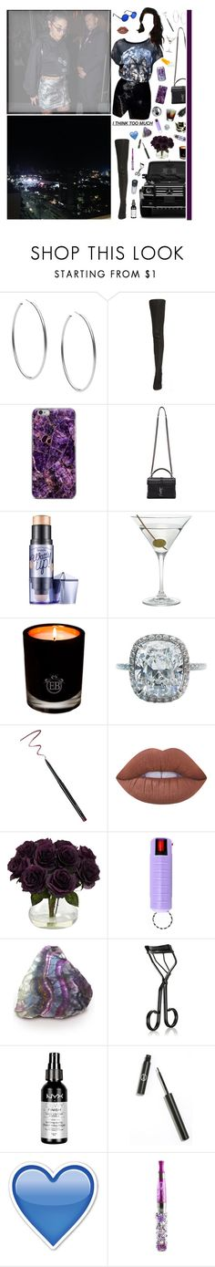 """""""4/10/17"""" by naomi-saldana ❤ liked on Polyvore featuring Michael Kors, Maison Margiela, Yves Saint Laurent, Benefit, Nordstrom, Mercedes-Benz, EB Florals, Harry Winston, MAC Cosmetics and Lime Crime"""