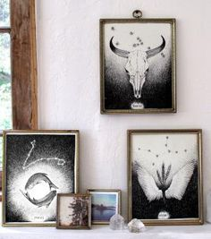 Catbird :: shop by category :: HOME  GIFTS :: Zodiac Prints - amazing prints