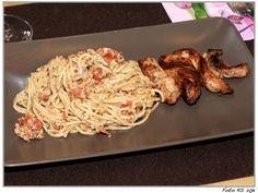 Spaghetti alla Trapanese (nach J. Oliver)