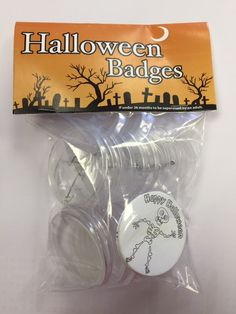 Fun Colour in Yourself Halloween badges - available in a variety of packs on our website and on eBay. Be creative and colour in your own Halloween badges, great for parties, trick or treat and prizes for Halloween activities including apple bobbing! Halloween Activities, Halloween Crafts, Bobbing For Apples, Apple Bobbing, Red Nose Day, Yearly, How To Make, Badges, Ebay