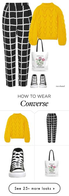 """""""Jan 4th/Jan 5th """" by roe-chanel on Polyvore featuring Topshop, Ganni and Converse"""